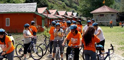 Cycle Expedition at Camp