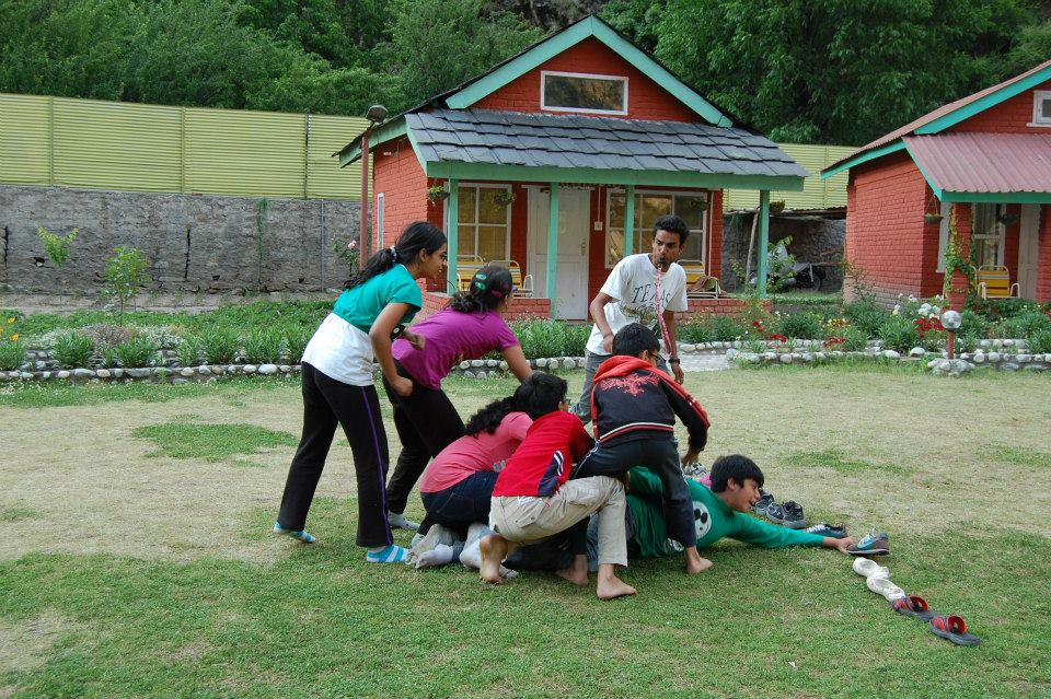 Students Activities at Camp
