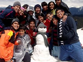 With Snow Man